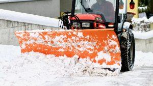 snow plowing near me