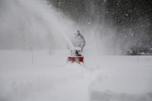 snow plowing service company in champlin