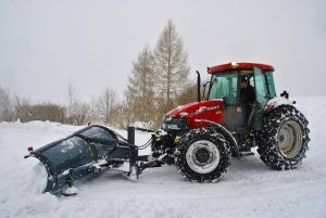 commercial snow removal contractor in champlin