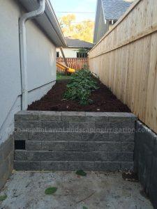 retaining wall in Edina, MN